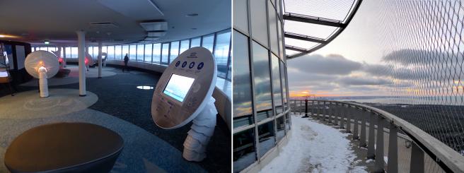 Tallinnan TV tornin näköalatasanne